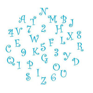 FMM Tappit Funky Alphabet & Numbers Set