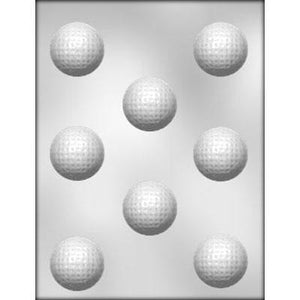 3D Golf Balls Chocolate Mold