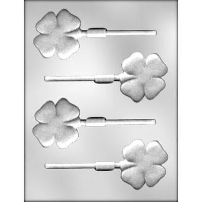 Four-Leaf Clover Sucker Chocolate Mold