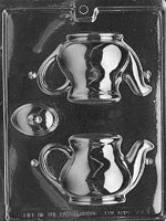 3D Tea Pot Chocolate Mold