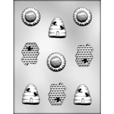 Bee Assortment Chocolate Mold