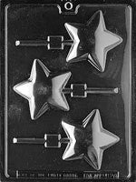 Rounded Star Chocolate Mold