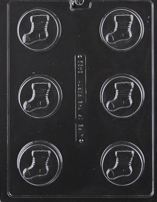 stocking cookie chocolate mold