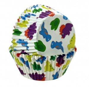 Dinosaur Baking Cups - 50 Pieces