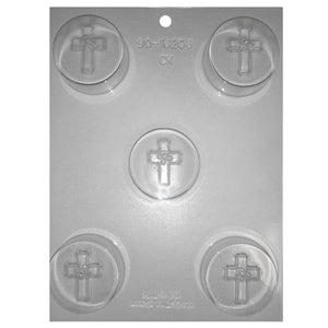 Holy Cross Cookie Chocolate Mold