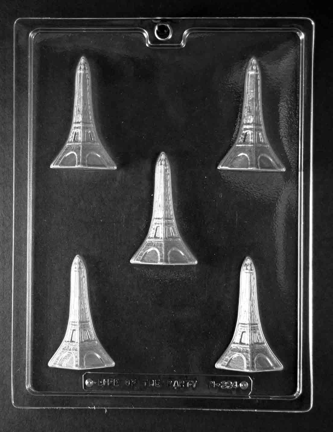 Eiffel Tower Piece Chocolate Mold