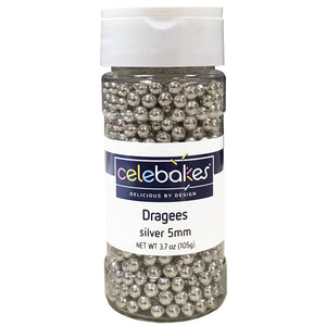 Dragees Silver 4mm