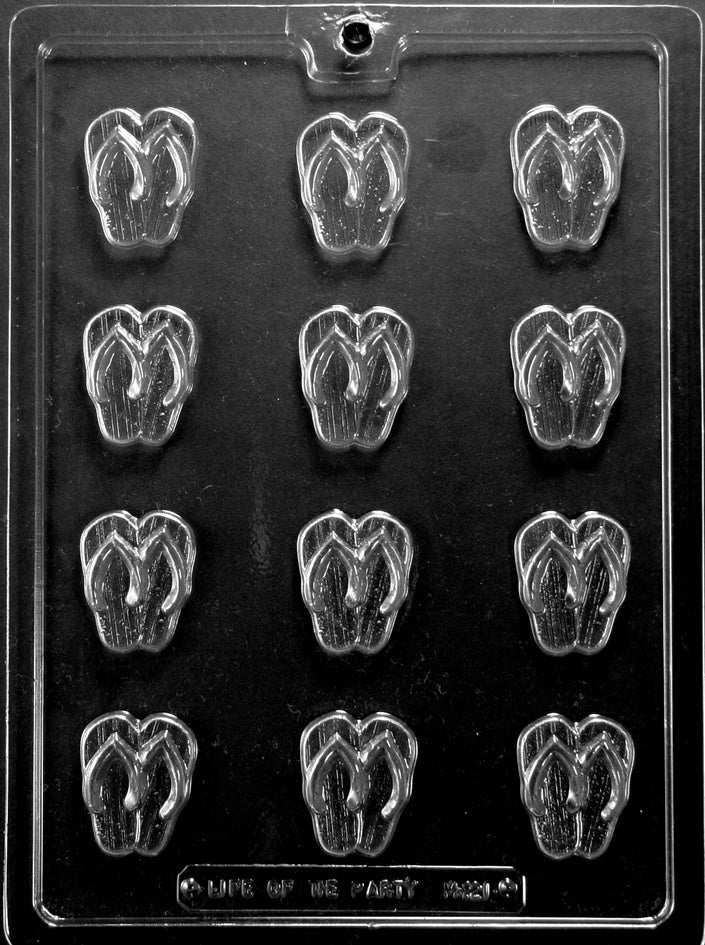 Bite Size Flip Flops Chocolate Mold