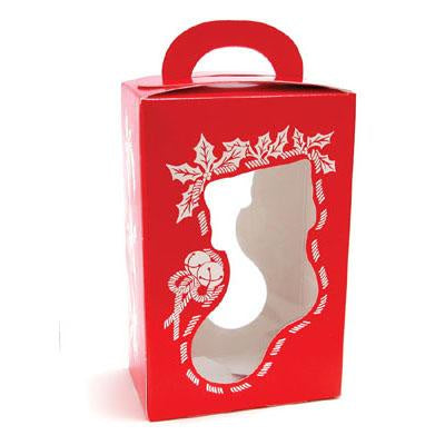 1 Pc - Candy Box - 5200 Christmas Stocking - Red