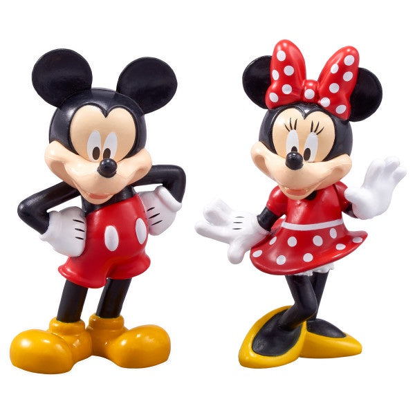 Mickey & Minnie Mouse Figures