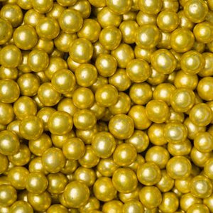 6MM Gold Dragees - Decoration Use Only