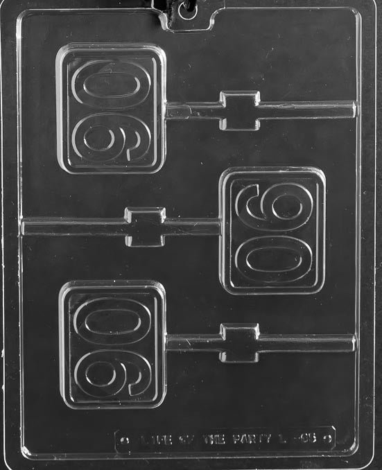 # 90 plain lolly Chocolate Mold