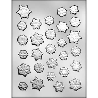 Assorted Snowflakes Chocolate Mold