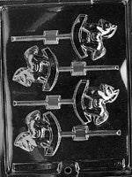 Rocking Horses Lolly Chocolate Mold