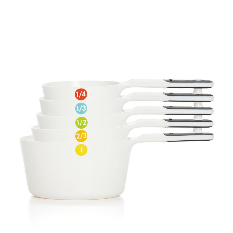 Good Grips 6 Piece Plastic Measuring Cups