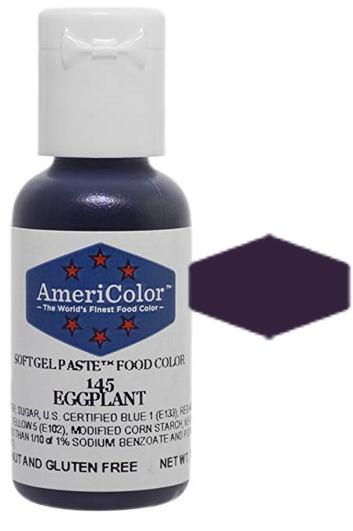 Americolor Soft Gel Paste Food Color - Eggplant, .75oz