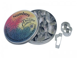 Number Cutters - Set of 9