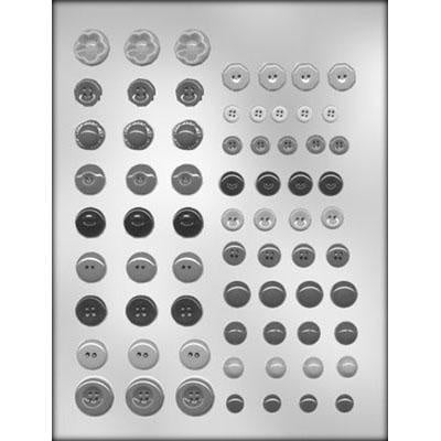 Button Assortment Chocolate Mold