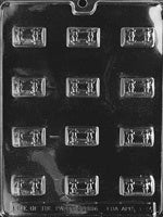 Bite Size Treasure Chests Chocolate Mold