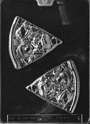 Slices Of Pizza Chocolate Mold