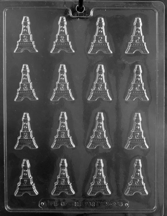 Small Eiffel Tower Chocolate Mold