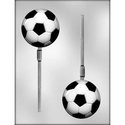 Soccer Ball Lollipop Chocolate Mold
