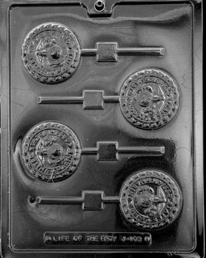 Marine Lolly chocolate Mold