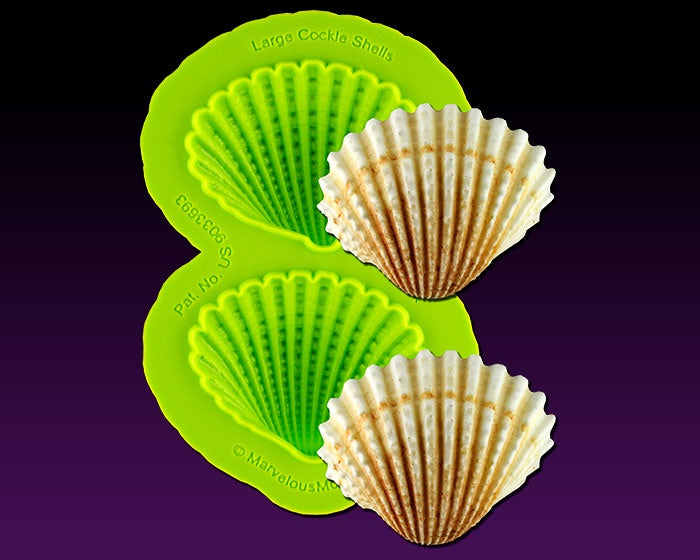 Large Cockle Shell Mold