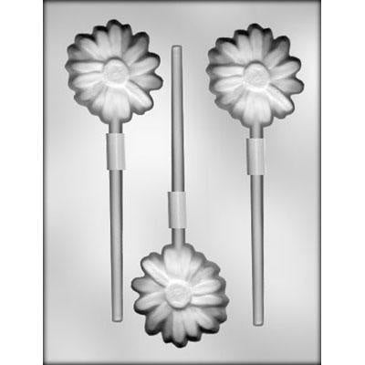 Daisy Lollipop Chocolate Mold