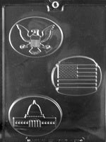 USA Box Set Chocolate Mold