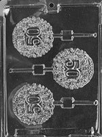 50th Anniversary/Birthday Lolly Chocolate Mold