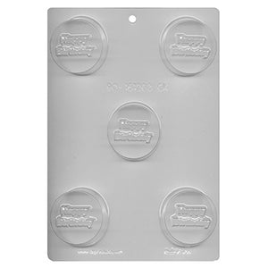 Happy Birthday Sandwich Cookie Chocolate Mold