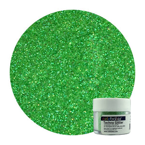 Celebakes Techno Glitter - Heat Green