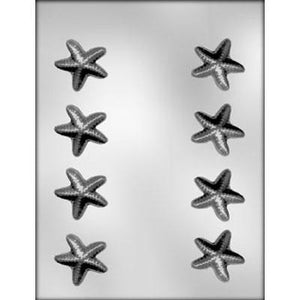 Starfish Chocolate Mold - 8 Molds