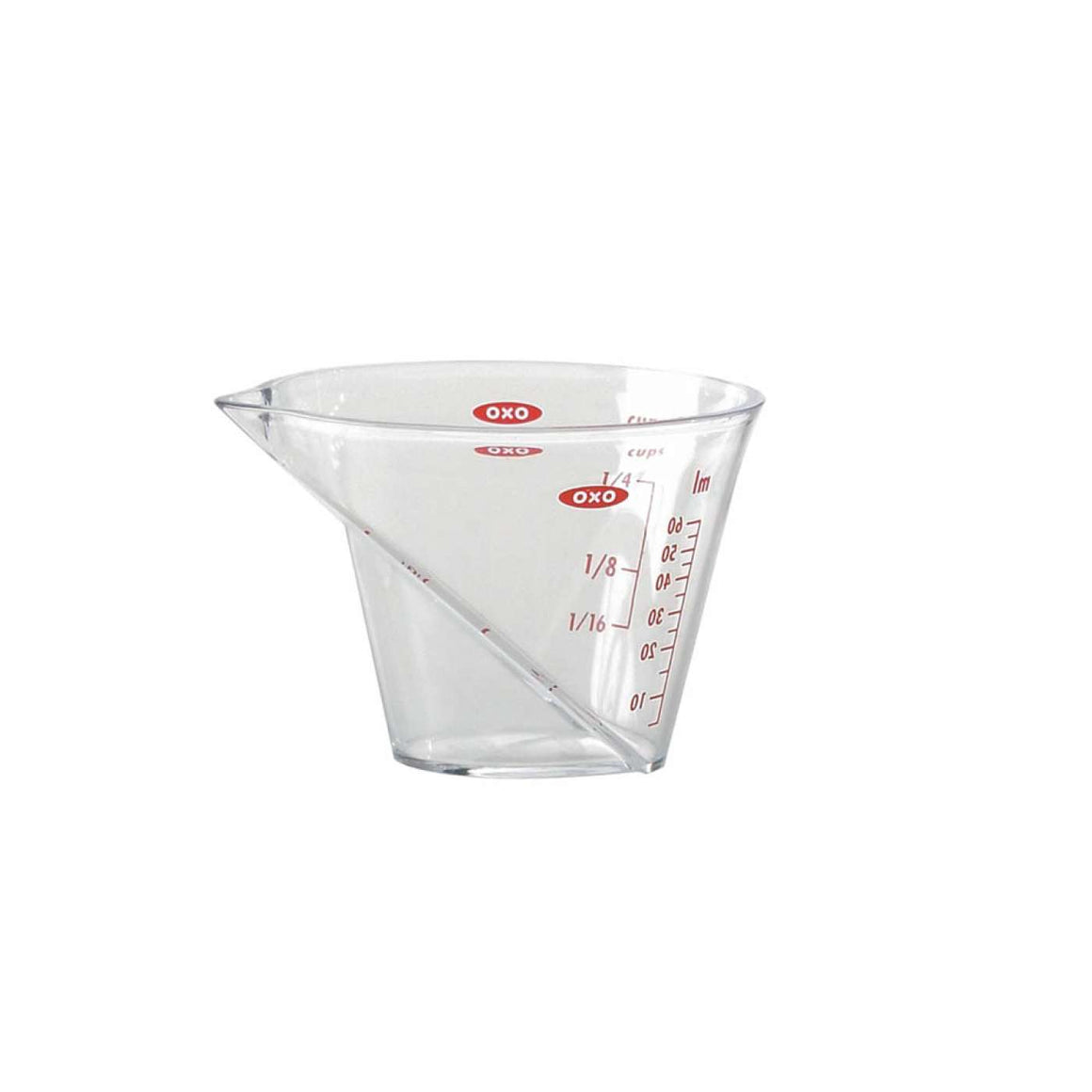 Good Grips Mini Angled Measuring Cup- 1/4 cup