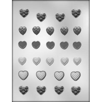 Small Heart Assortment Chocolate Mold