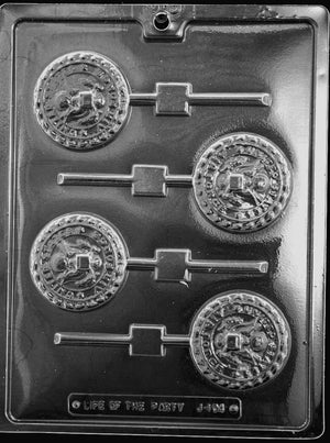 Air Force Lolly chocolate Mold