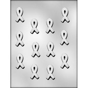 Cancer Awareness Ribbon Chocolate Mold