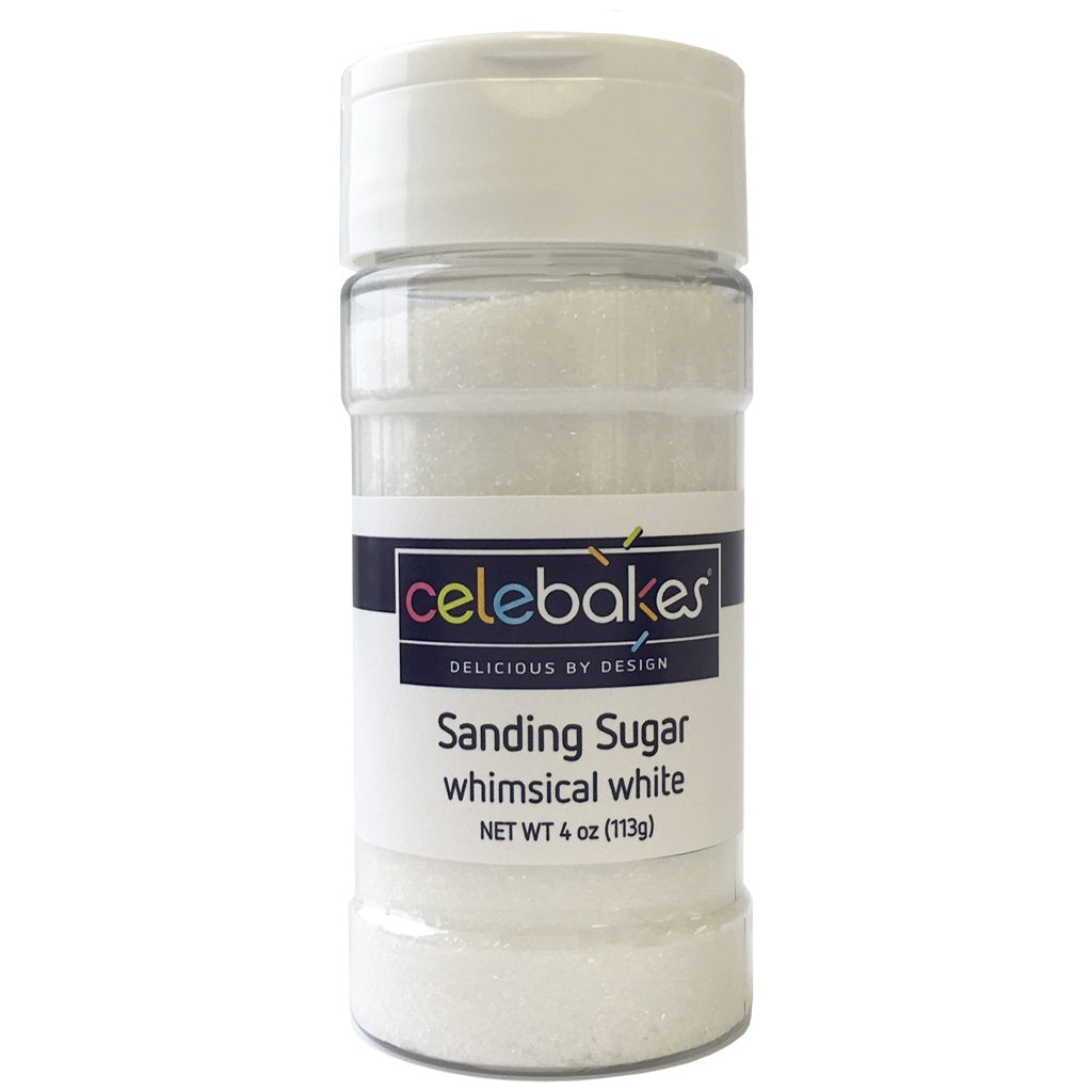 Celebakes Whimsical White Sanding Sugar