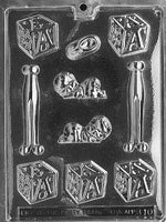 Assorted Baby Pieces Chocolate Mold