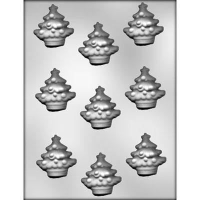 Decorated Christmas Tree Chocolate Mold