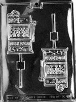 Slot Machine Lolly Mold