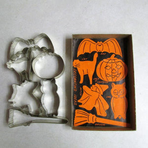 Trick or Treat Halloween Cookie Cutters