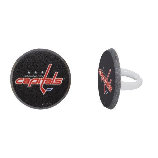 Capitals Plastic Ring-12