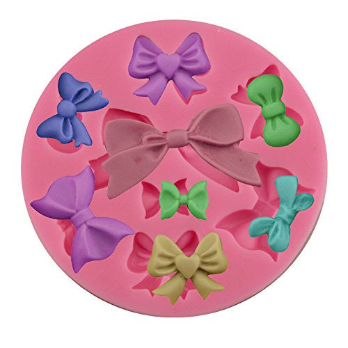 Bows Silicone Mold - 8 various sizes