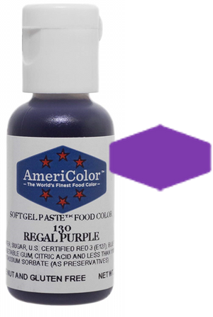 Americolor Soft Gel Paste Food Color - Regal Purple, .75 oz