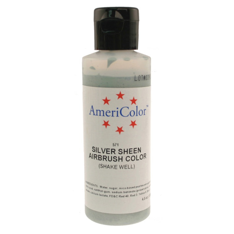 Amerimist Airbrush Color - Silver Sheen - 4.5oz