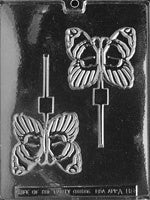 Large Butterfly Lollipop Chocolate Mold