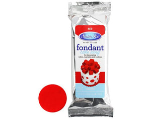 Satin Ice Red Fondant - 4.4oz