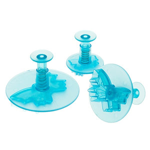 Ateco 3 Piece Veined Butterfly Plunger Cutters